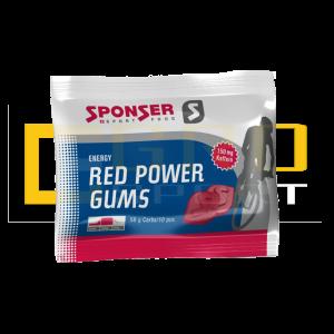 Энергетическое драже Sponser Red power gums