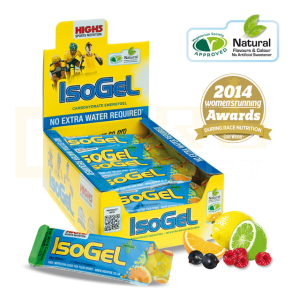Изотонический Гель High5 IsoGel Plus с кофеином