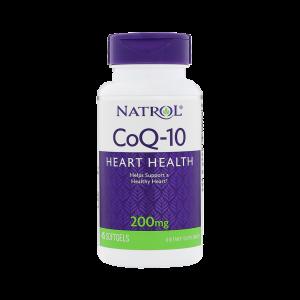 Коэнзим Q10 Natrol 200 мг - 45 капсул