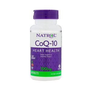 Коэнзим Q10 Natrol, 100 мг - 30 капсул