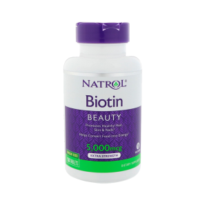 Биотин Natrol, 5000 мкг